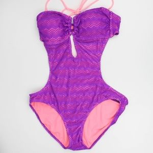 OP Womens Swimsuit One Piece Removable Strap